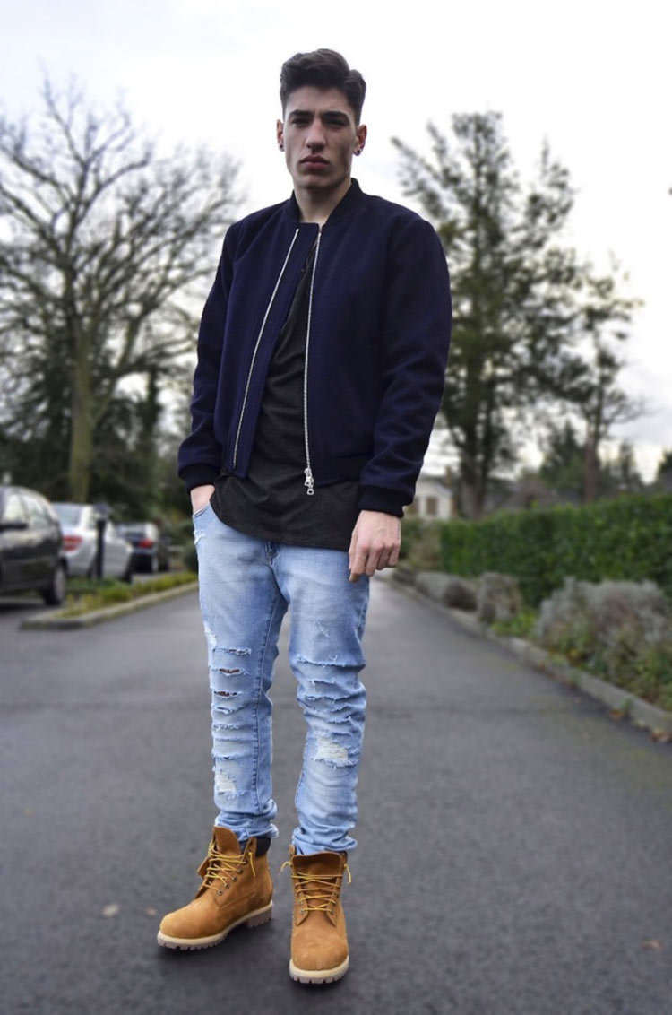 алодии есть как носить тимберленды с джинсами мужчинам фото что