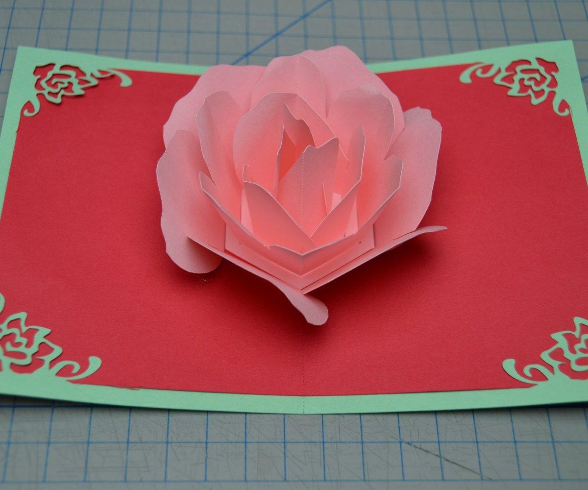открытка с розами на день матери своими руками район включает себя