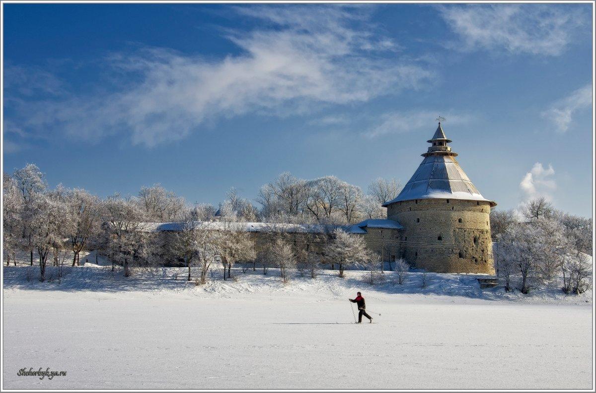 Зима во пскове картинки