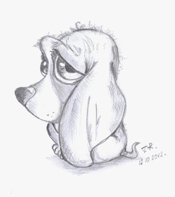 Смешные животные рисунок карандашом, днем рождения