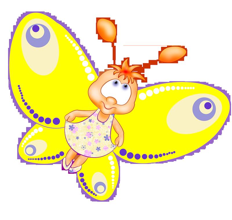 Картинки с изображением бабочек для детей
