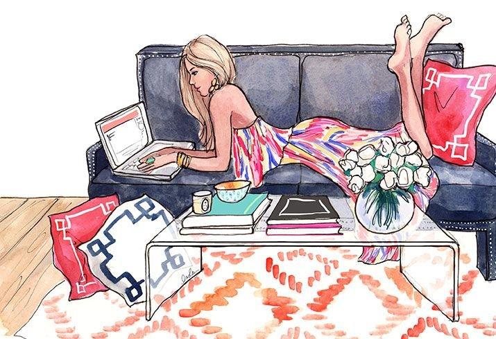 Женщина на диване прикольные картинки, днем