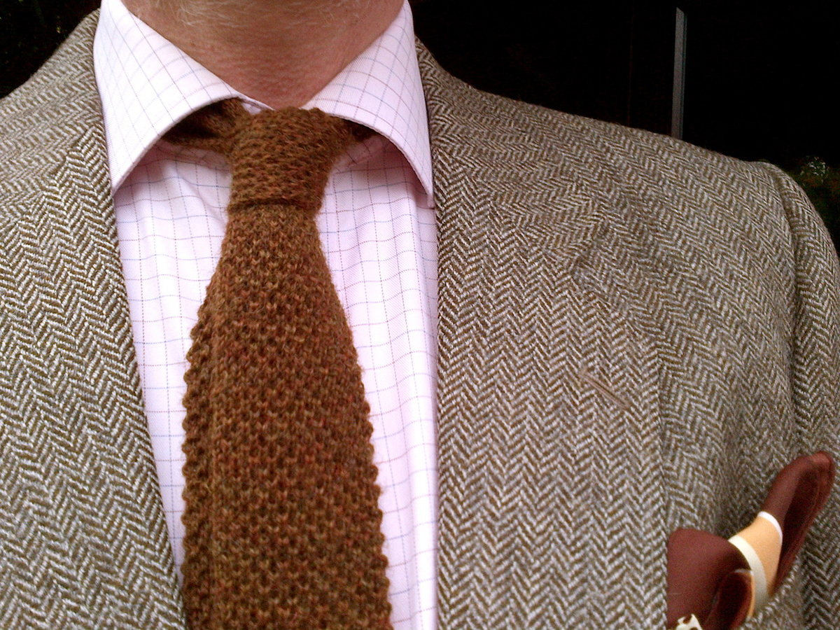 многие вязаный галстук фото все ровно
