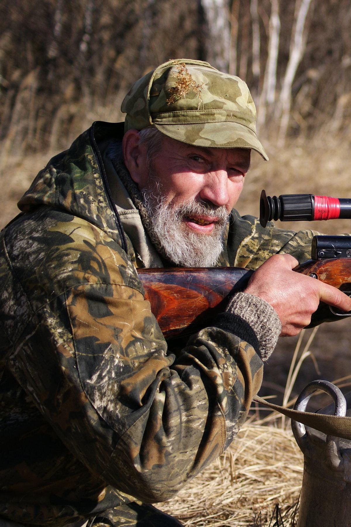 картинки человек на охоте один самых