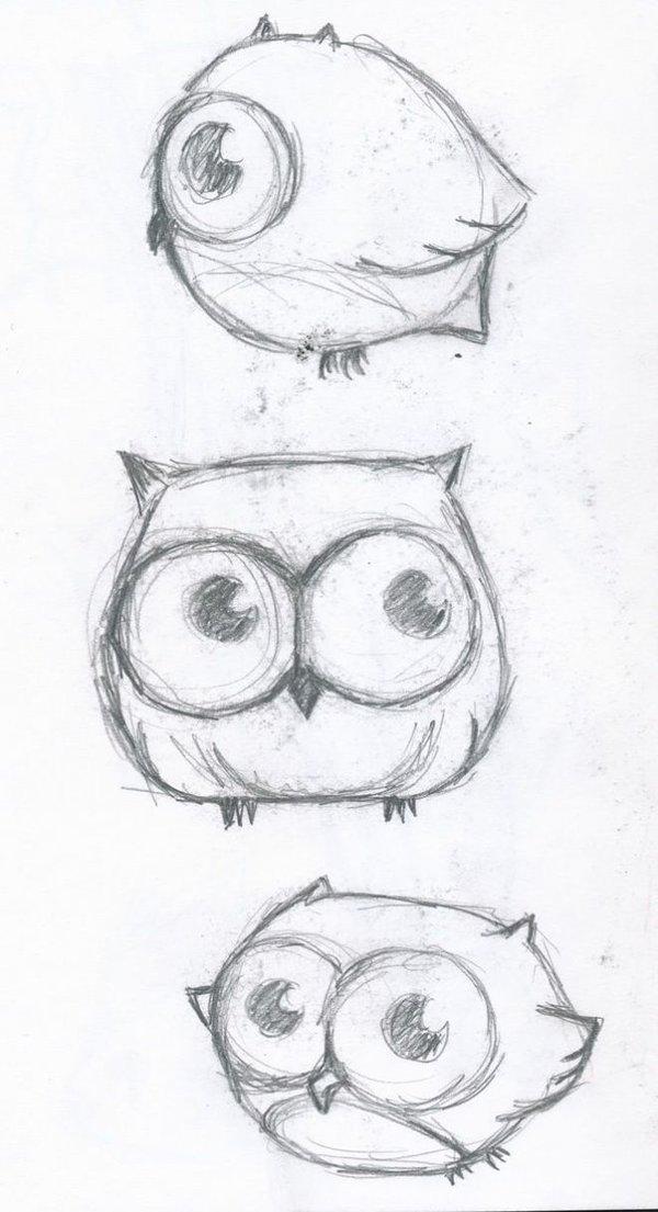 Красивые маленькие картинки для срисовки карандашом