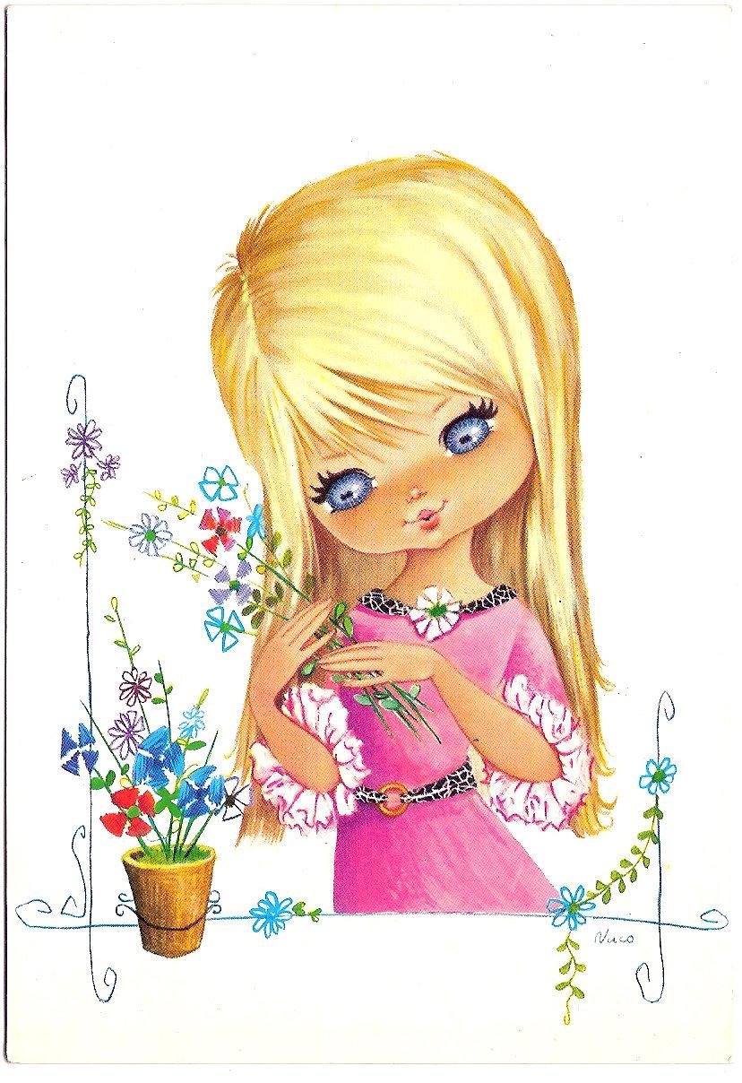 Картинки открытки для девочки