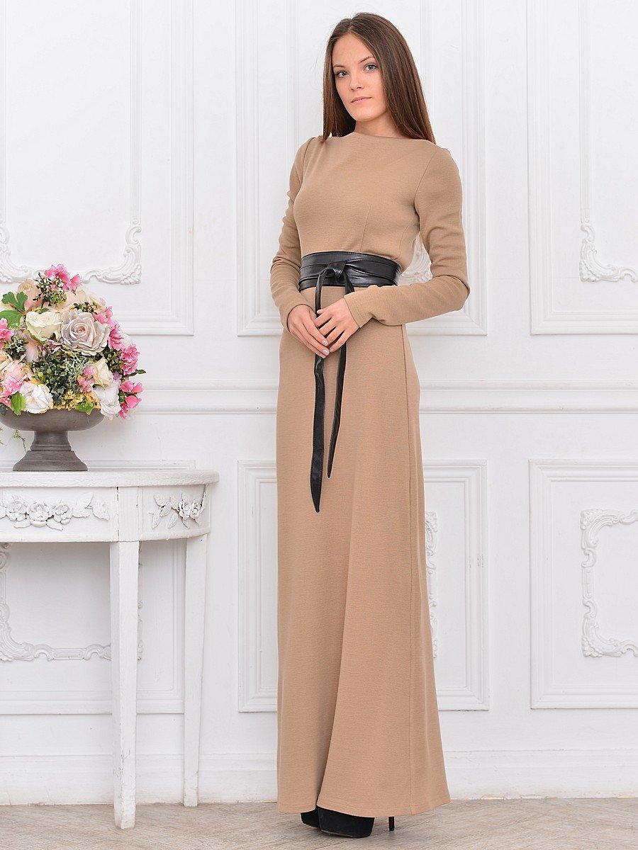 56648f9dd7c Великолепные платья в бежевых тонах с блестками - шикарный вариант ...