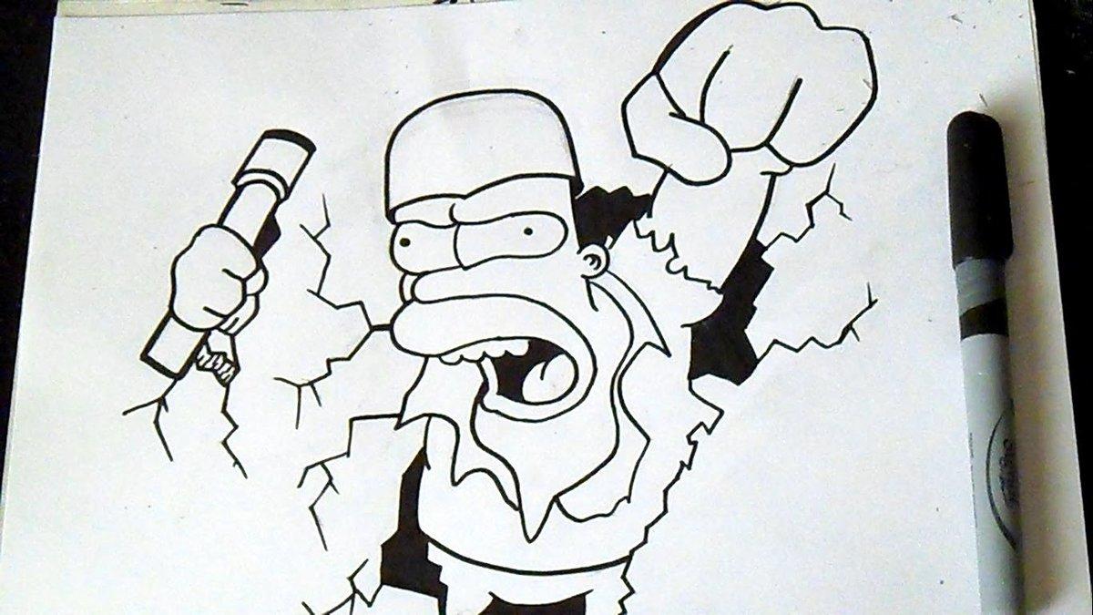 Граффити на бумаге прикольные картинки