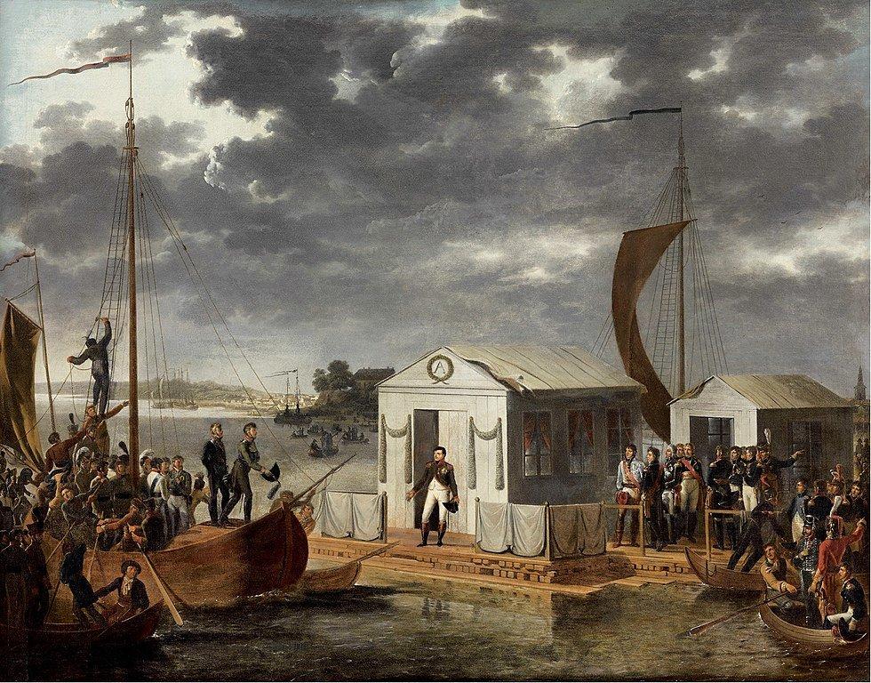 7 июля 1807 г. Начались русско-французские переговоры, завершившиеся подписанием Тильзитского мира