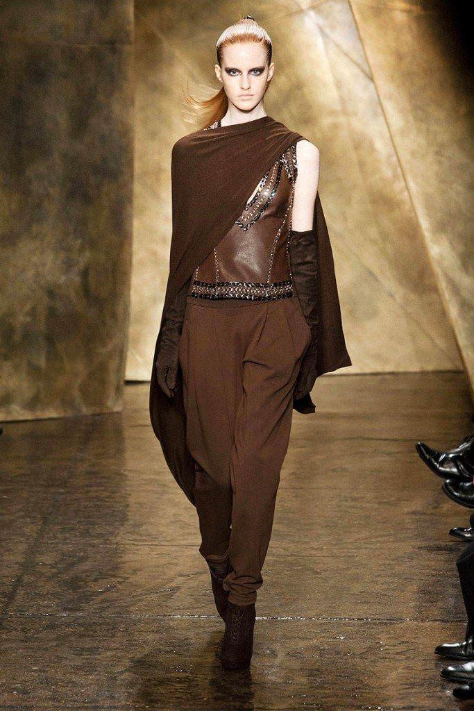модный коричневый оттенок в фотографии себе