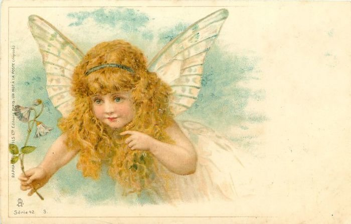 День ангела картинки старинные