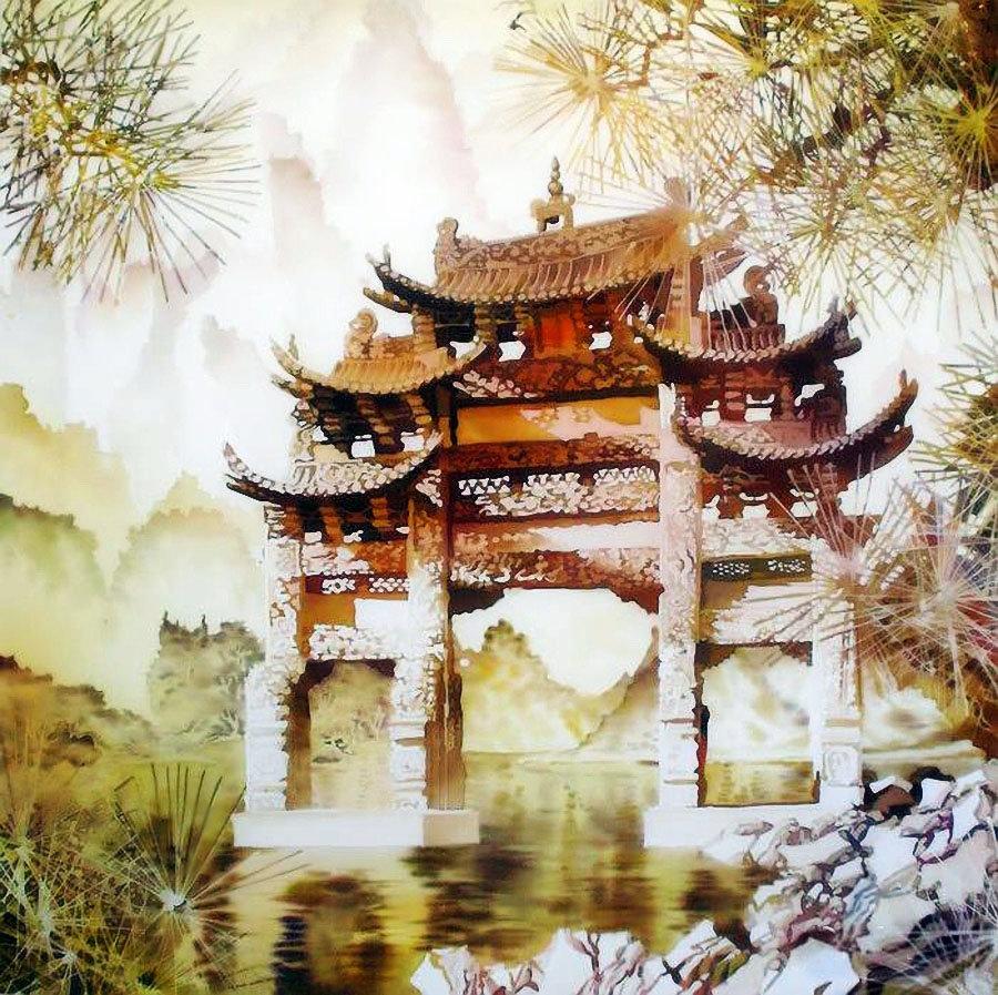 Живопись картинки в японском стиле