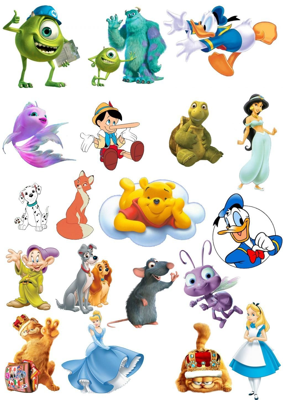 Картинки маленькие персонажи