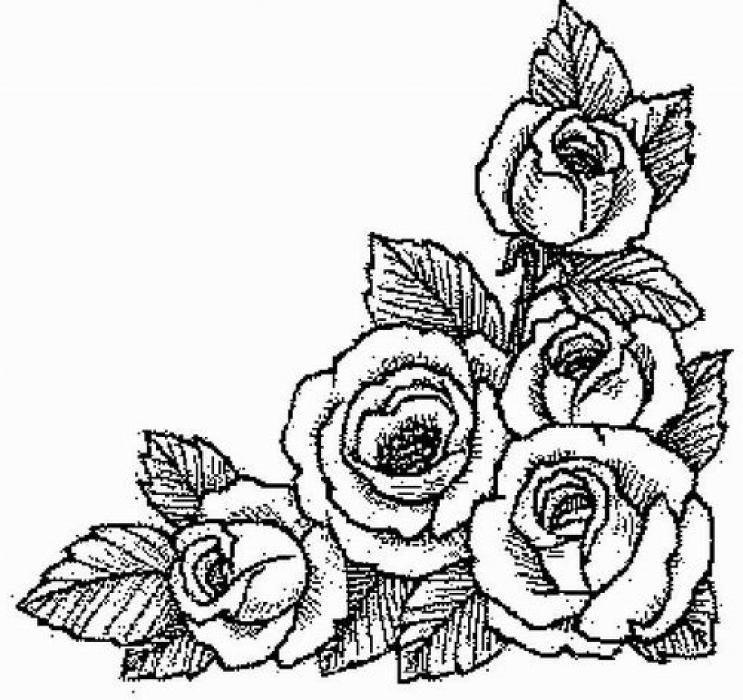 Нарисовать цветок для открытки, девочка мерцающие