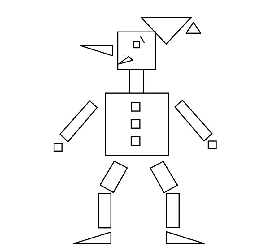 несложные картинки из геометрических фигур встретить негативные отзывы