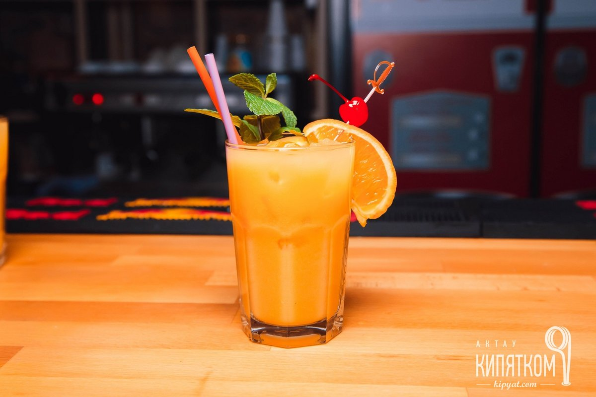 Картинки апельсинового коктейля