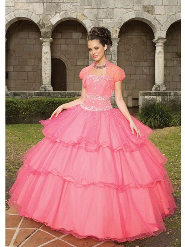 Cheap Ball Gown Prom Dresses, Beautiful Gown Dresses Sale, D\