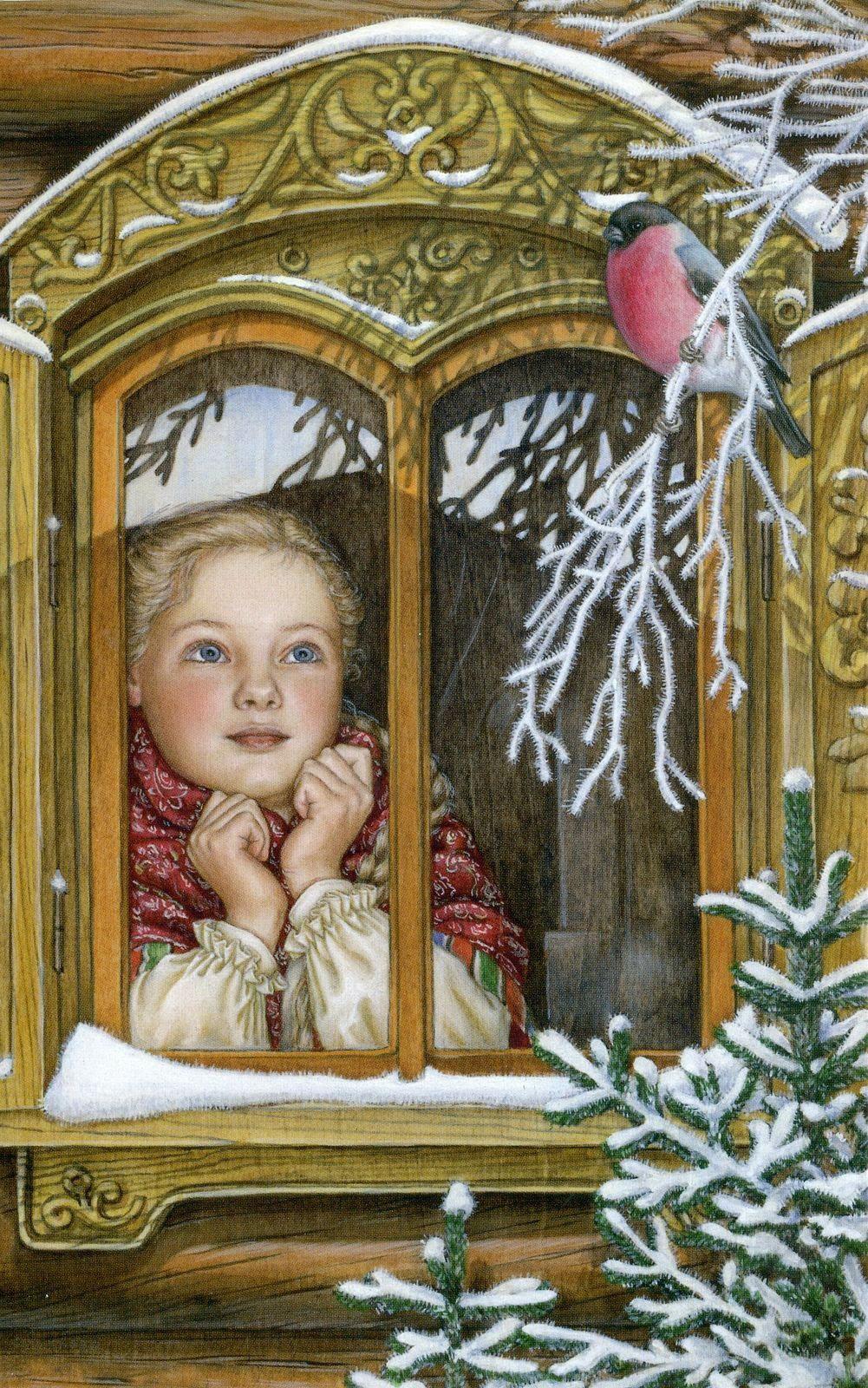 Картинках надписями, галерея зимних открыток