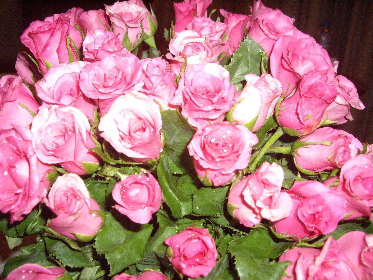 С днем рождения дочери открытка розы, днем рождения