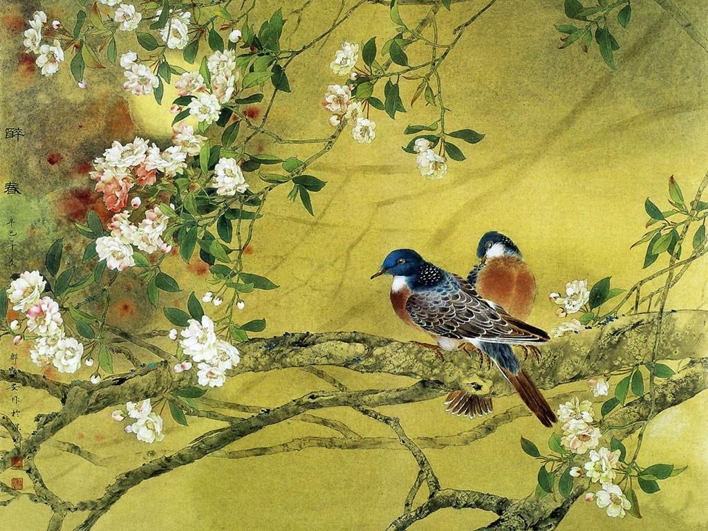 Птички картинки красивые обои на телефон художников