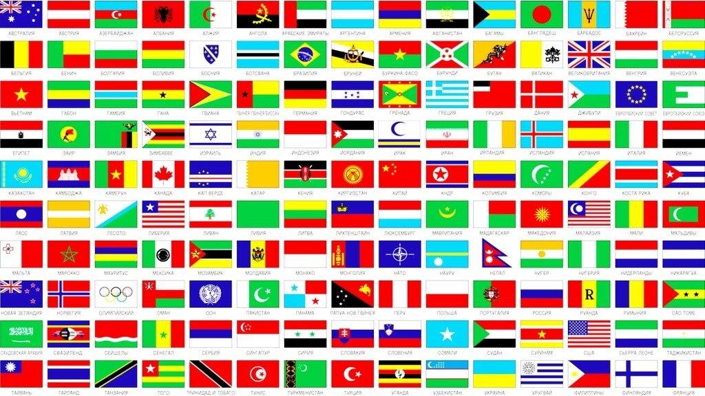что фото всех стран мира с названиями ящик