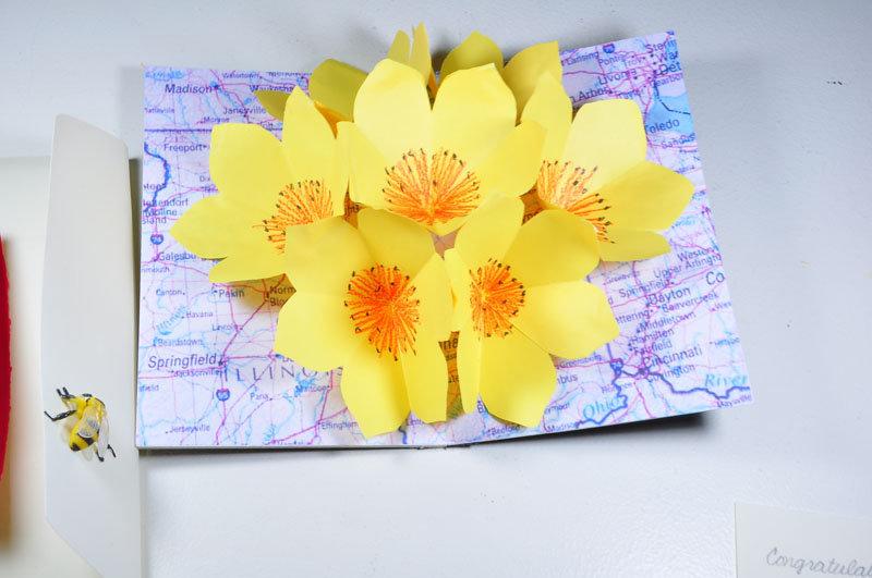 десятом мастер класс открытки объем 3д цветы коллекция