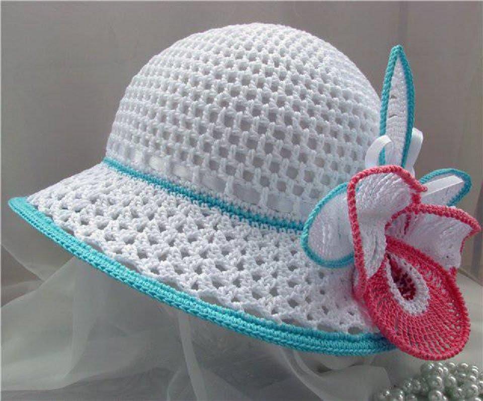 рукодельница летние шляпы шляпки и шапочки постила карточка
