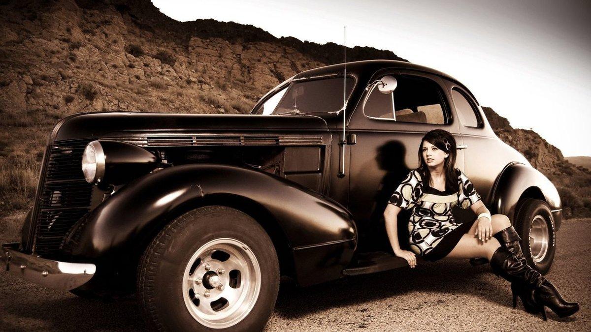 Днем рождения, девушки и машины прикольные картинки