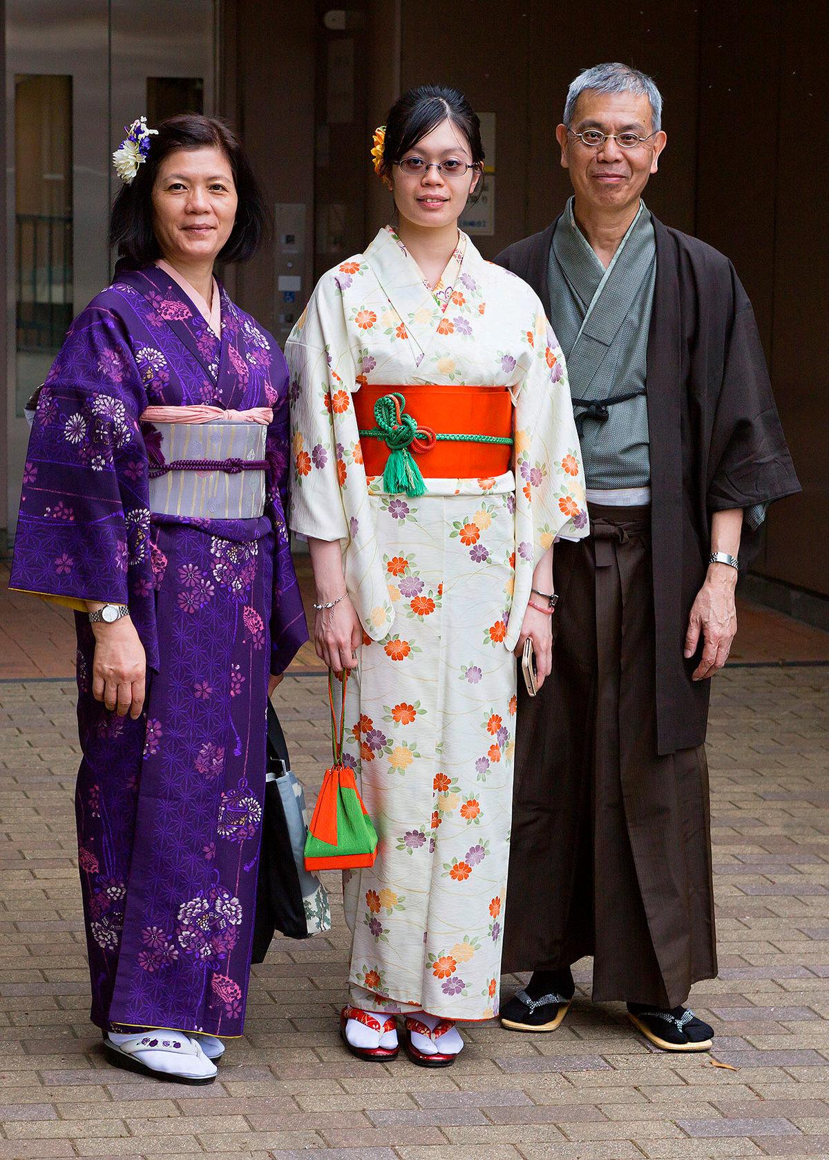 уважаемые фото национального костюма японии это