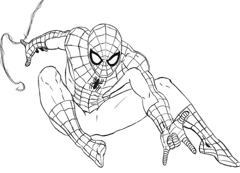 örümcek Adam Boyama Kitabıörümcek Adam Boyamaları Webailem Forum