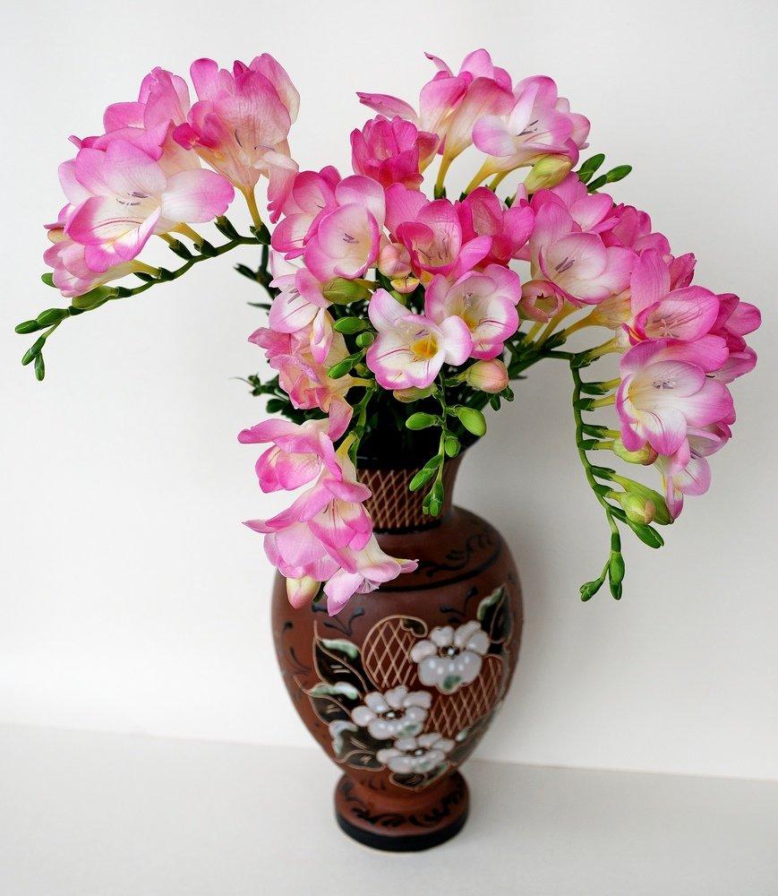 композиция цветов в вазе картинки волк для детей