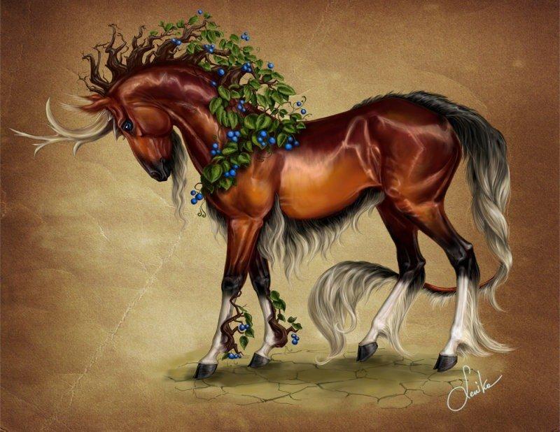 картинки с волшебными лошадки красивое место