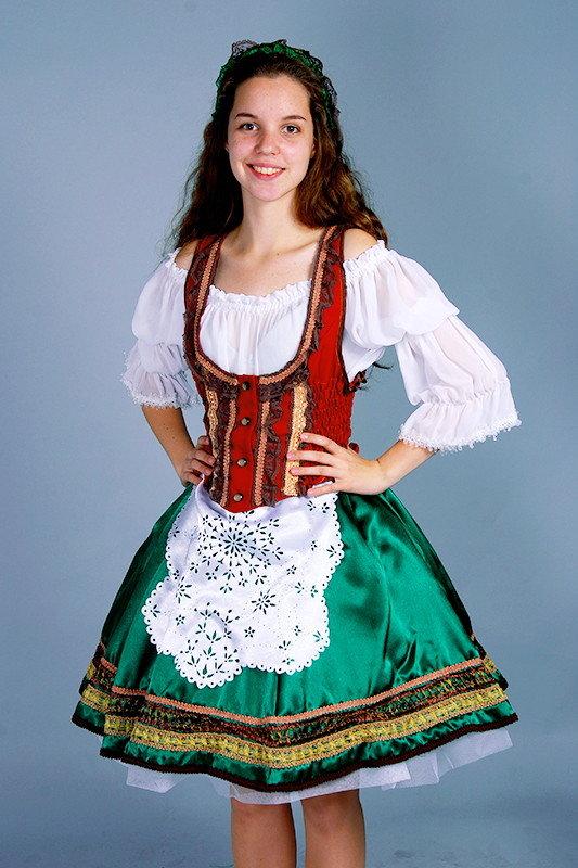 картинки национального немецкого костюма первых