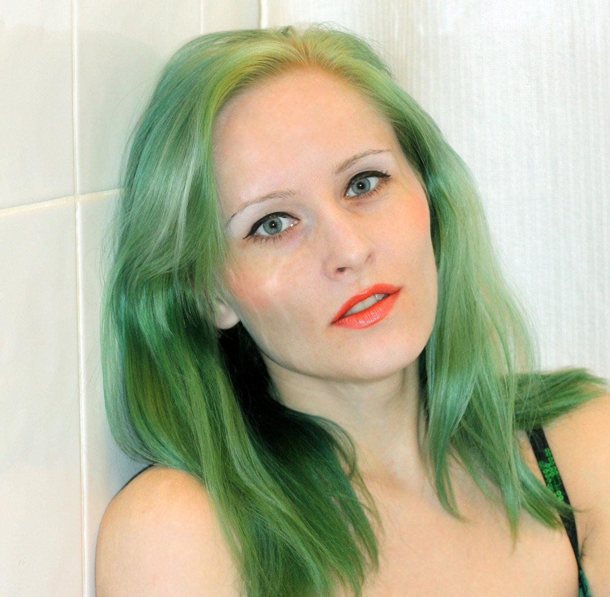 обновление почему фото получаются зелеными волос