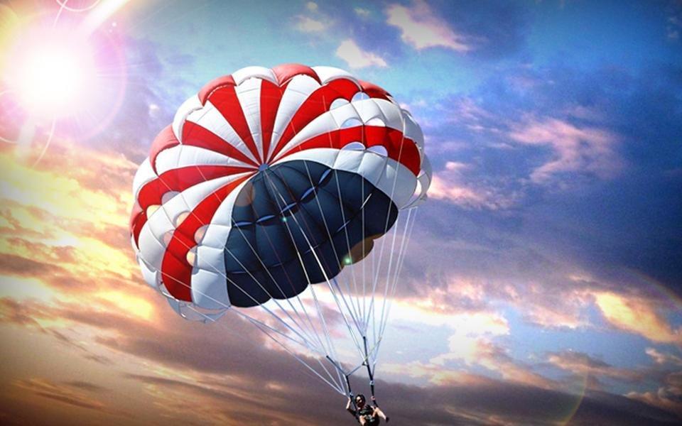 Христианскими темами, картинки с парашютами