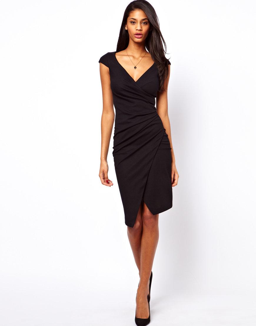 747ab0b18873564 Черное платье-футляр без рукавов » — карточка пользователя Ира С. в ...
