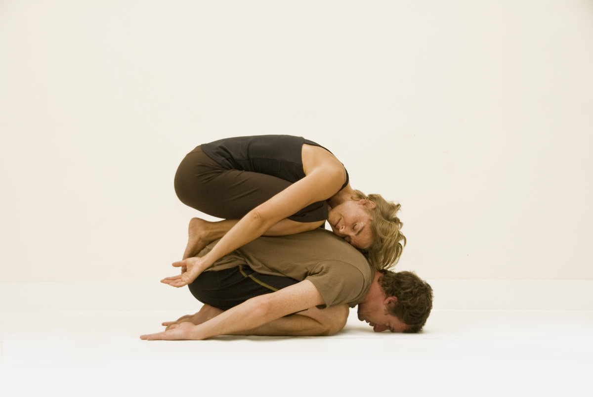 Картинки для йоги на двоих