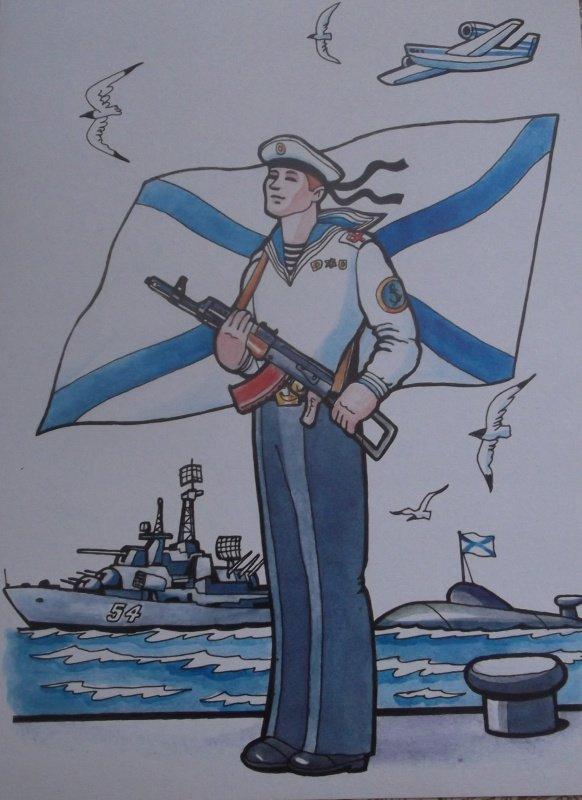 Картинки моряк подводник для детей