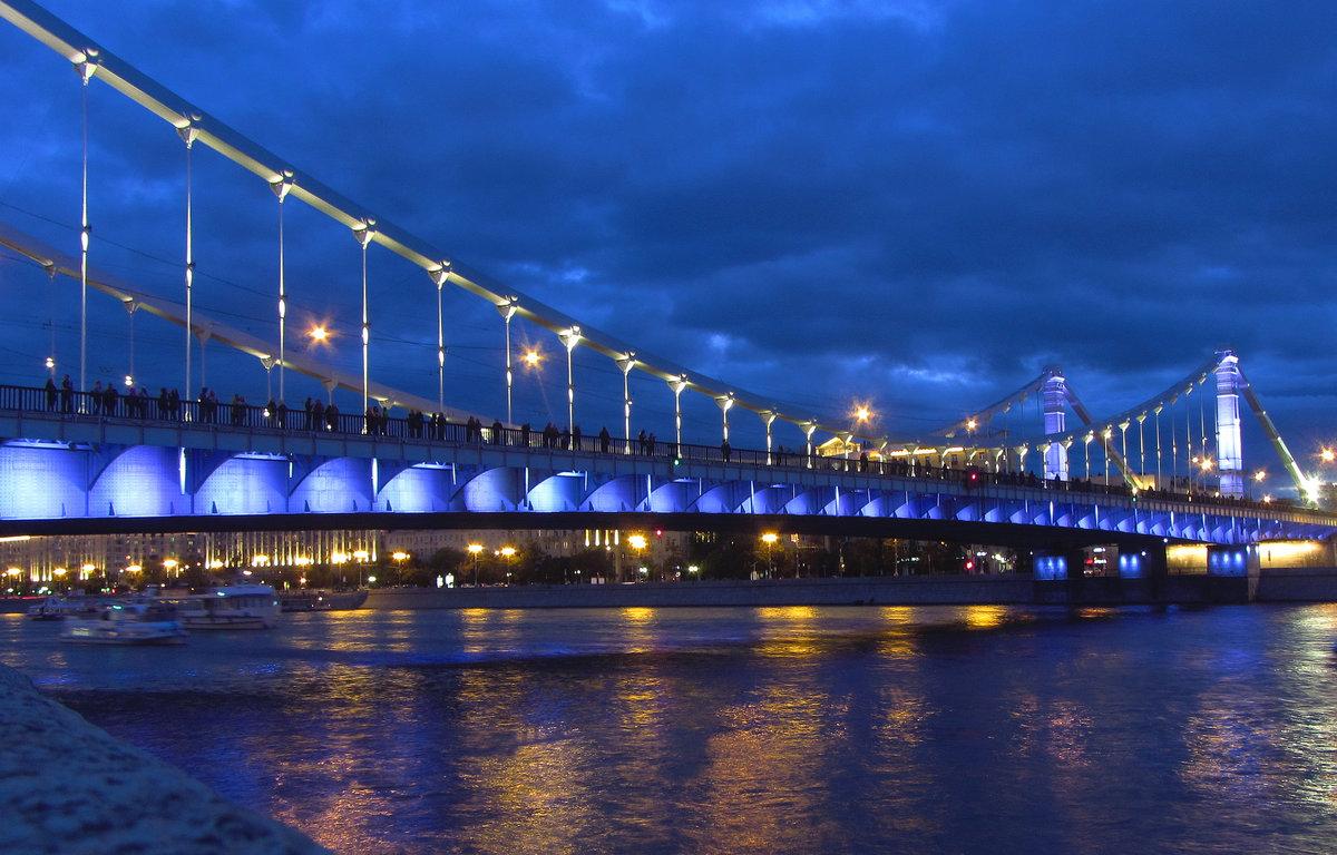 Москва крымский мост фото