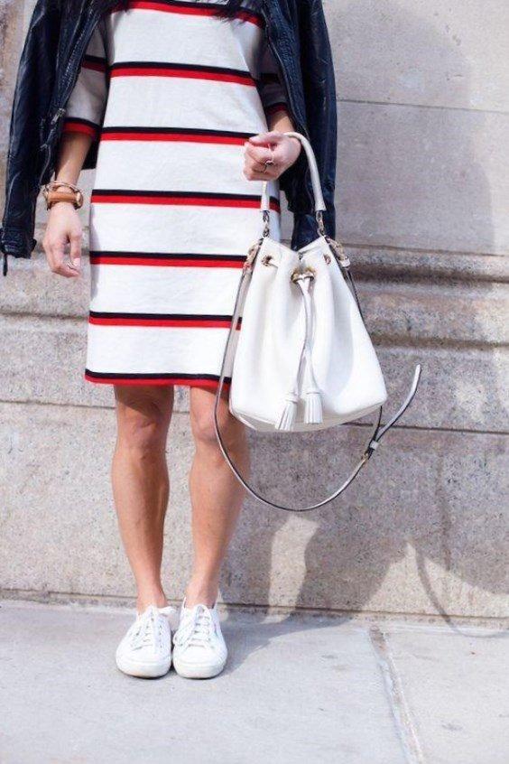 Удобная и практичная кожаная сумка-мешок в белом цвете.» — карточка ... 98f8f9927bf