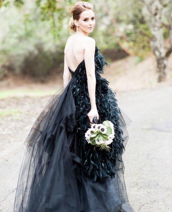 Видеть во сне себя в черном платье