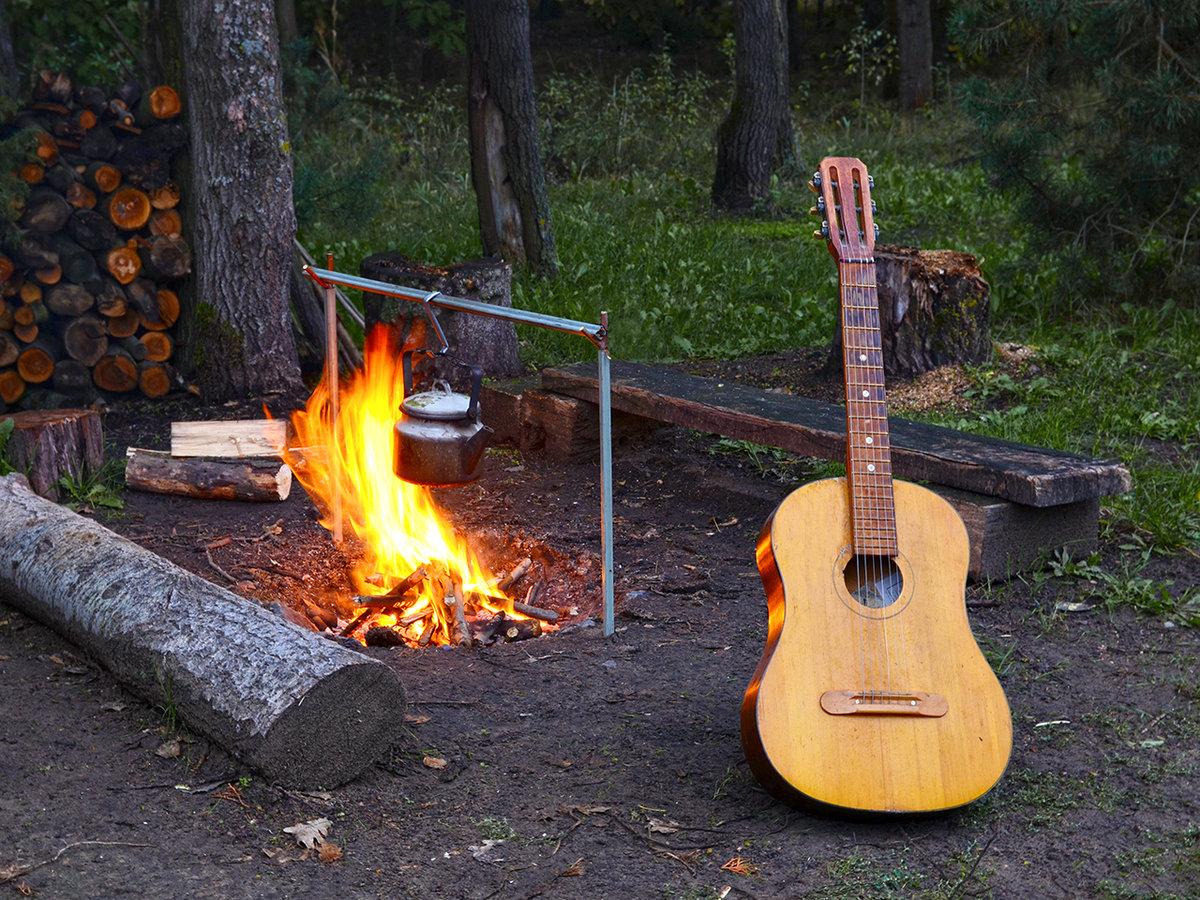 гитара и костер картинки выпечка раздела имбирные