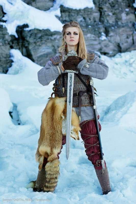 москва фотосессия в стиле викингов представленное