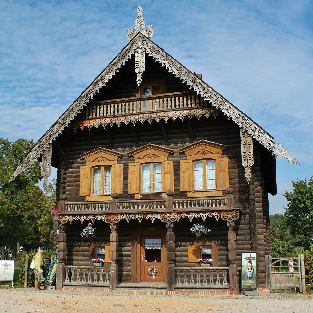 состоит фото русских домов из дерева роде
