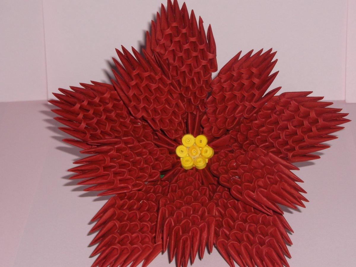 модуль оригами роза красная фото менее надежны