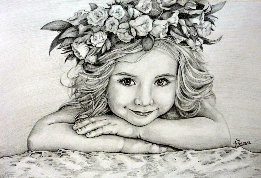 Про, картинки рисунки девочек