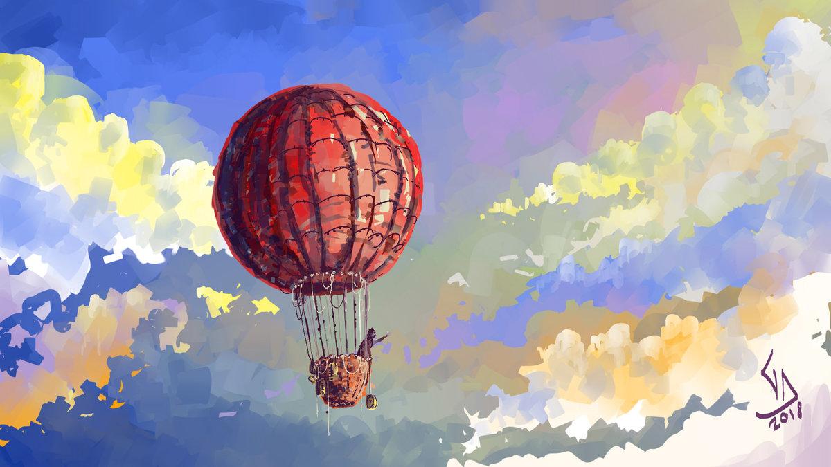 картинки воздушного шара рисунок