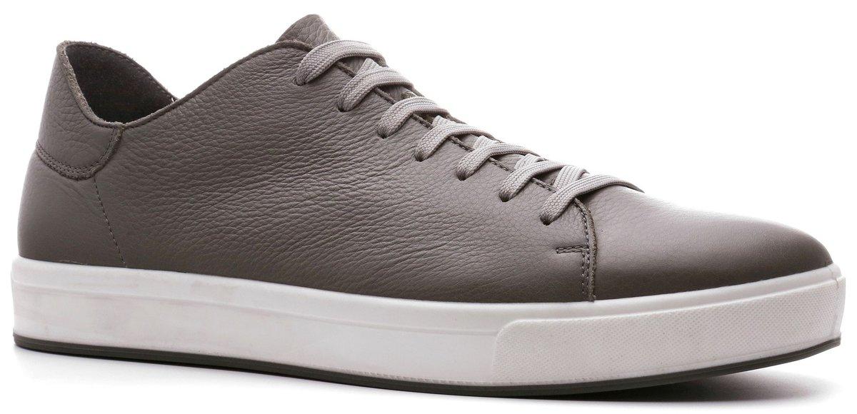 ad2463f9 Цвет: серый Кеды мужские newton RALF RINGER • Состав: натуральная кожа. •  Цвет: серый