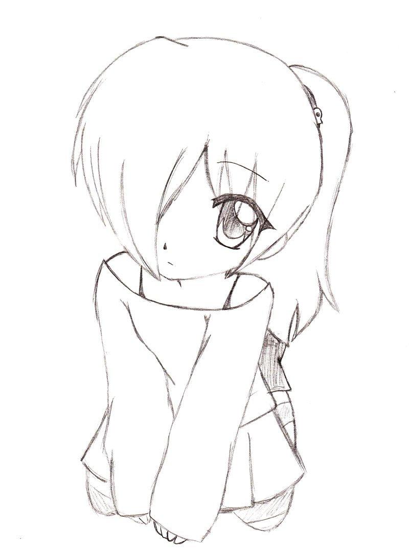 Днем рождения, прикольные рисунки аниме карандашом