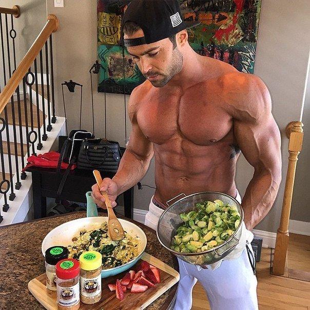 Спорт диета для мышц